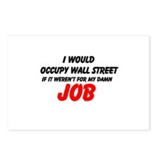 Cute Occupy wall street Postcards (Package of 8)