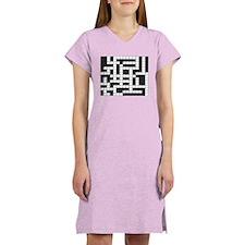 Funny Crossword Women's Nightshirt