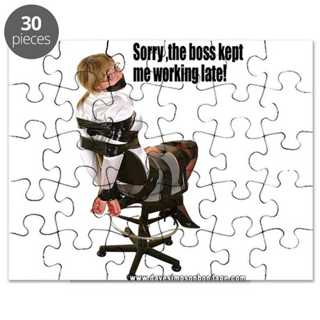 Sorry, The Boss Kept Me Worki Puzzle