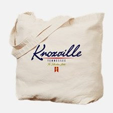 Knoxville Script Tote Bag