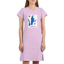 Quabbin Reservation Women's Blue Nightshirt