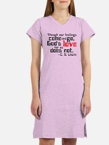 God's Love for Us Women's Nightshirt