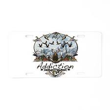 My Addiction Aluminum License Plate