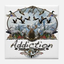 My Addiction Tile Coaster