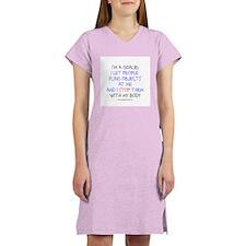Goalie Declaration Women's Nightshirt
