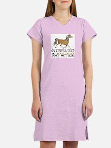 Haflinger Horse Women's Nightshirt