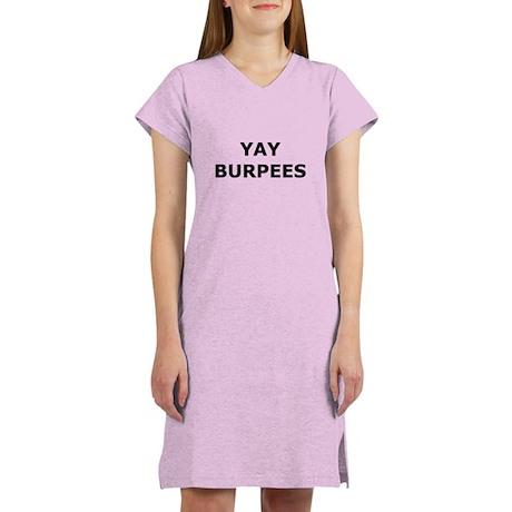 Yay Burpees Women's Nightshirt