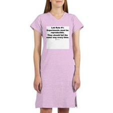 Lab Rule #1 - Women's Nightshirt