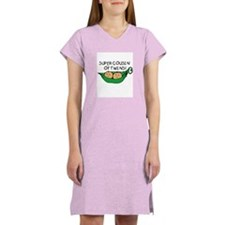 Super Cousin of Twins Women's Pink Nightshirt