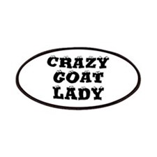 Crazy Goat Lady Patches