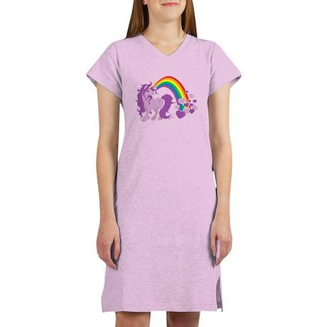 GIRLY UNICORN Women's Nightshirt