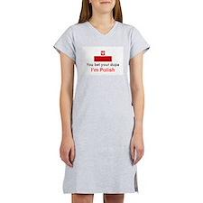 Polish Dupa Women's Nightshirt