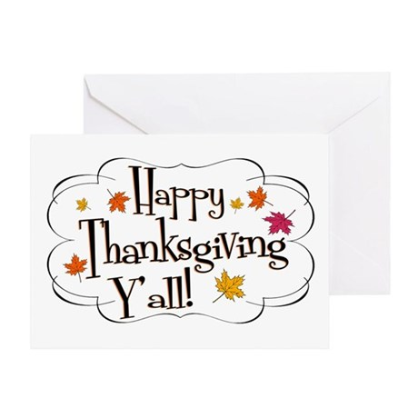 It's Thanksgiving Y'all Greeting Card