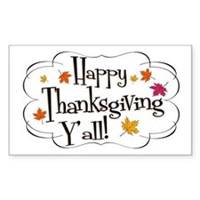 It's Thanksgiving Y'all Decal