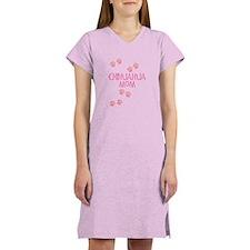 Pink Chihuahua Mom Women's Nightshirt