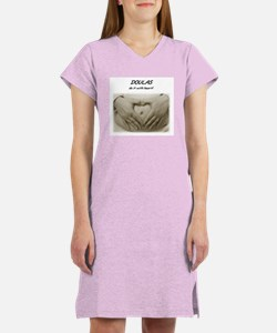 DOULAS do it with heart! Women's Nightshirt