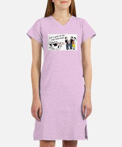Yodel Till the Cows Come Women's Nightshirt