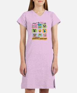 Meet The Love Of Your Life Women's Pink Nightshirt
