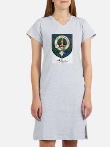 Shaw Clan Crest Tartan Women's Nightshirt