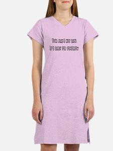 Not Late Women's Nightshirt