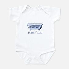 Bubble Power (blue) Infant Bodysuit