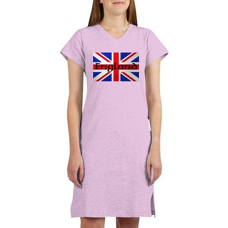 Union Jack Flag England Women's Nightshirt