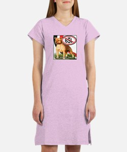 STOP BSL Women's Nightshirt