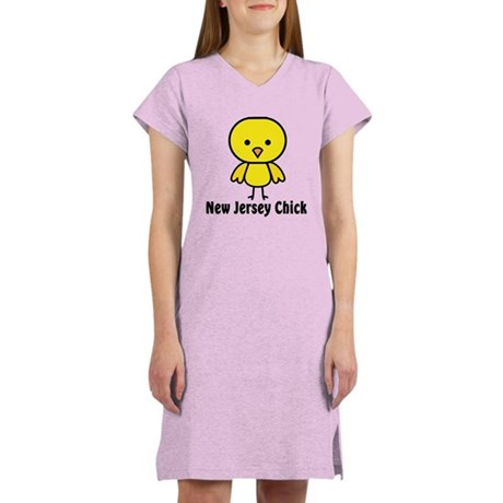 New Jersey Chick Women's Nightshirt