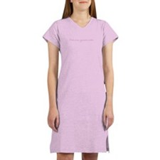 Women's Pink is My Signature Color Nightshirt