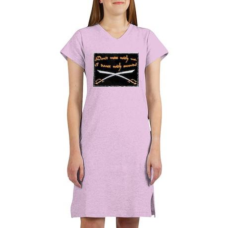Scimitar Warning Women's Nightshirt