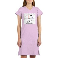 Cute Agility dog Women's Nightshirt