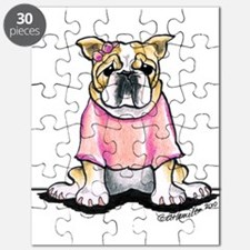 Girly Bulldog Puzzle