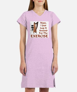 Harp for the Exercise Women's Nightshirt
