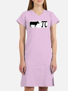 Cow Pi (pie) Women's Nightshirt
