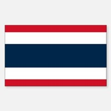 Flag of Thailand Rectangle Decal