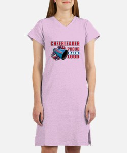 Cheerleader Proud & Loud Women's Nightshirt