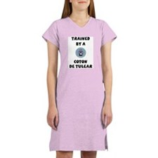 Trained by a Coton Women's Pink Nightshirt