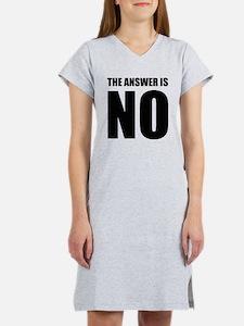 NO! Women's Nightshirt