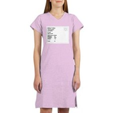 Cloth Armor Women's Nightshirt