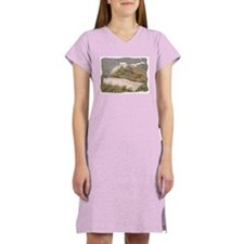 Climbed Great Wall Photo - Women's Pink Nightshirt