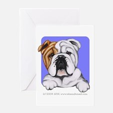 English Bulldog Lover Greeting Card