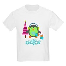 Penguin and Snowman T-Shirt