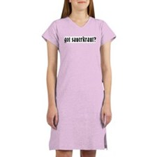 Got Sauerkraut Women's Pink Nightshirt