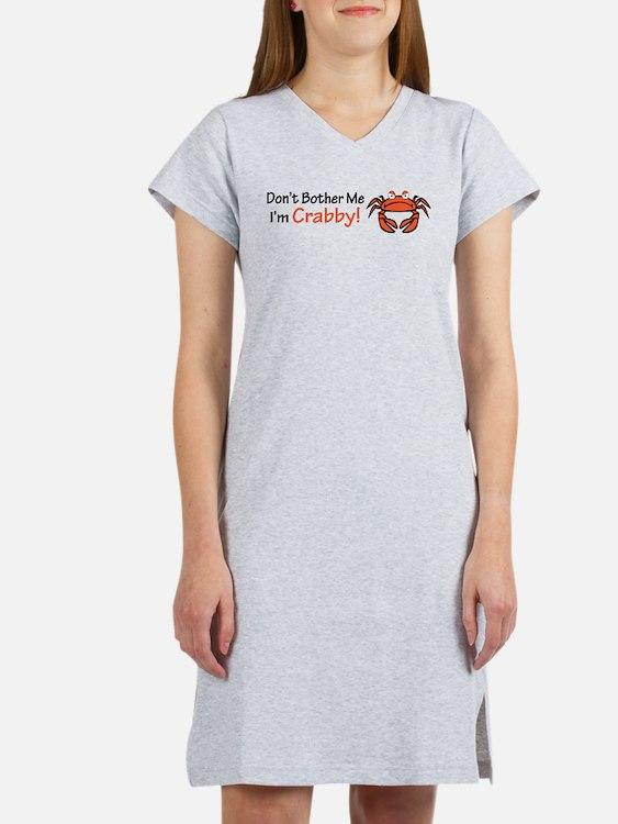 Cute Crabby Women's Nightshirt