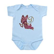 Cute Monogram d Infant Bodysuit