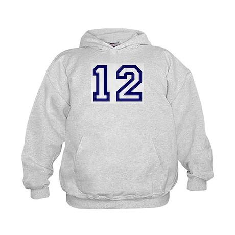 Number 12 Kids Hoodie