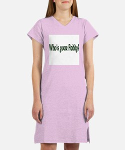 Who's Your Paddy? Women's Nightshirt
