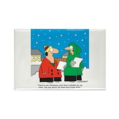 Christmas Carol Rectangle Magnet (100 pack)