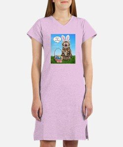 Where's My Chocolate? Easter Women's Nightshirt