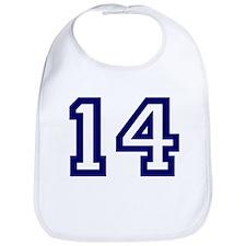 Number 14 Bib
